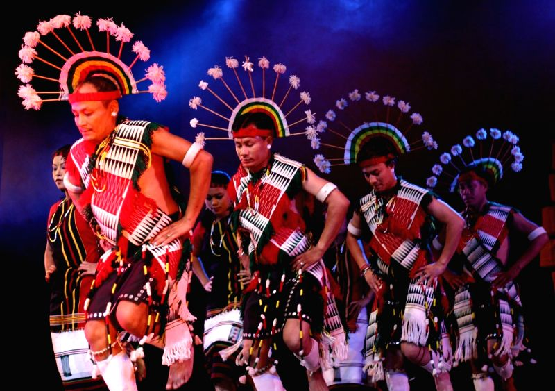 Dance performance at the Festival of Traditional Dance and ...