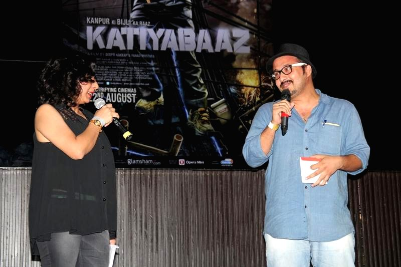 Dancer Devanshu Kumar during the music launch of film Katiyabaaz in Mumbai on Aug 11, 2014. - Devanshu Kumar