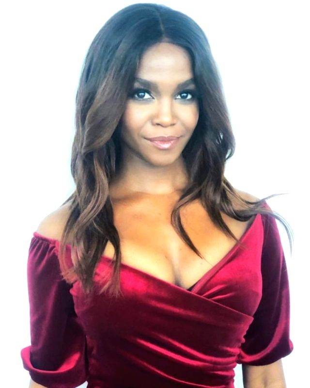 """Dancer Oti Mabuse replaces singer Rita Ora as panelist on the American reality show """"The Masked Singer""""."""