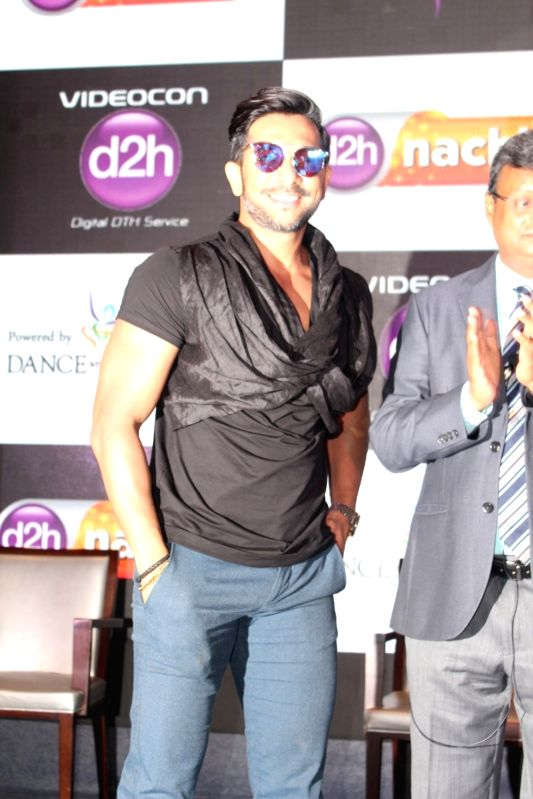 Dancer Terence Lewis during launch of d2h Nachle, an interactive dance service by Videocon d2h in Mumbai on May 10, 2017.