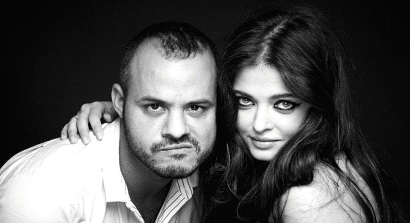 Daniel Bauer with Aishwarya Rai Bachchan