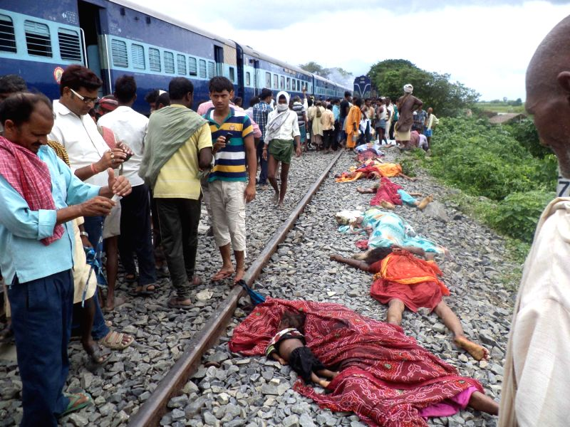 Bodies Run Over By Trains