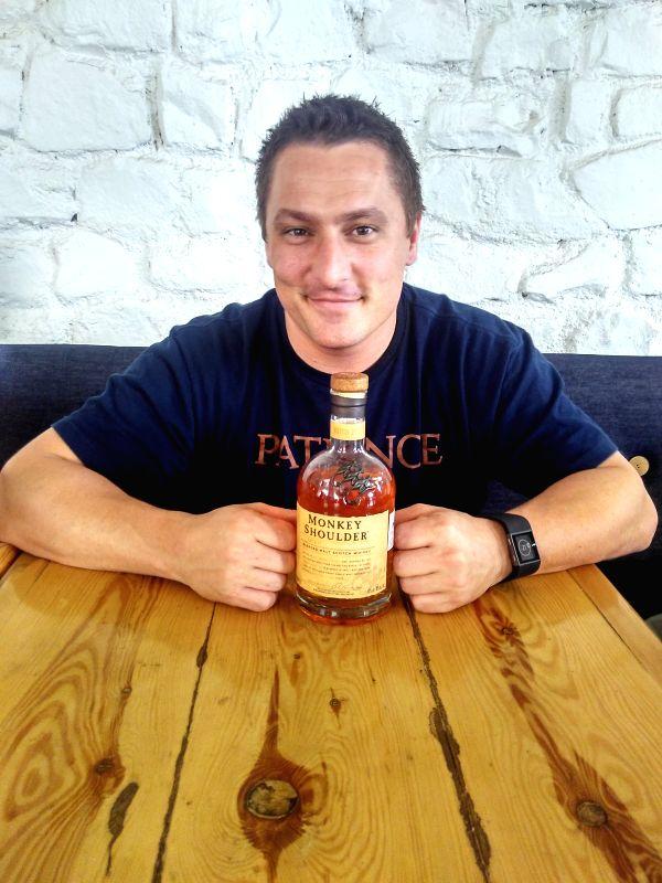 Dean Callan, global brand ambassador of whisky brand Monkey Shoulder