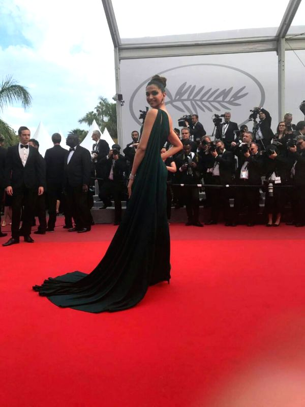Deepika Padukone looked stunning in her second appearance on the Cannes Film Festival red carpet - Deepika Padukone