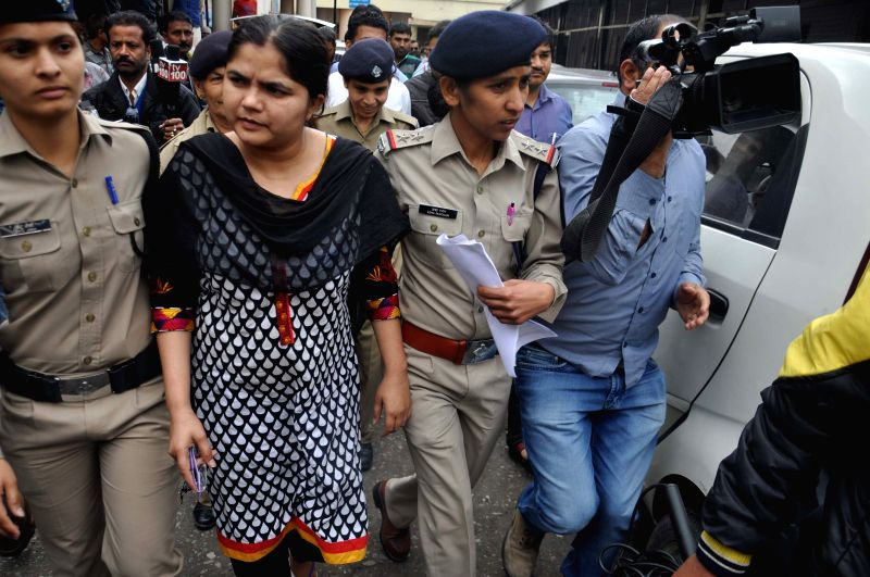 Police arrested Ruby Chowdhary who managed to stay at the Lal Bahadur Shastri National Administrative Academy allegedly masquerading as an IAS official in Dehradun, on April 4, 2015.