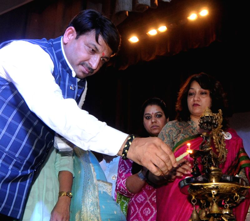Delhi BJP chief Manoj Tiwari during a programme in New Delhi, on June 8, 2018.
