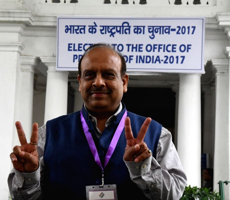 Presidential Polls- Delhi Assembly - Vijender Gupta