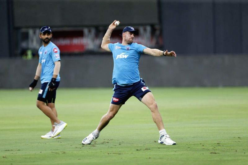 Delhi Capitals have a good balance at the moment, says Nortje.