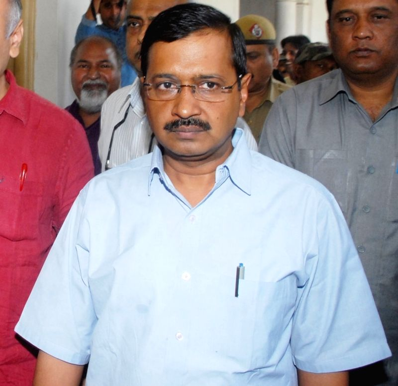 Delhi Chief Minister Arvind Kejriwal. (Image Source: IANS)