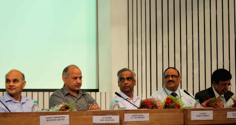 Education Department Launches New Website For Student Loan >> Manish Sisodia launches education loan scheme
