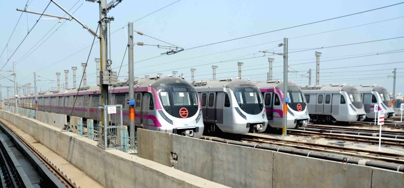 File Photo: Delhi metro