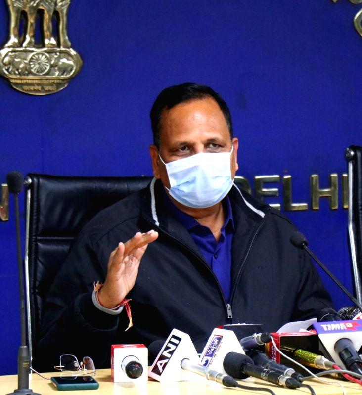 Delhi Minister raises alarm over depleting city water table.(Photo: Qamar Sibtain/IANS)