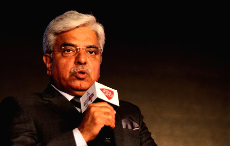 Delhi Police Commissioner BS Bassi addresses at Agenda 15 organised by Aaj Tak in New Delhi, on Dec 12, 2015.