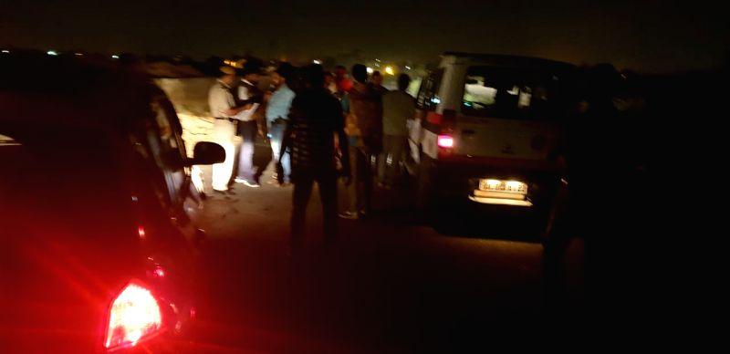 Delhi Police Special cell's encounter underway in Rohini Sector 24.