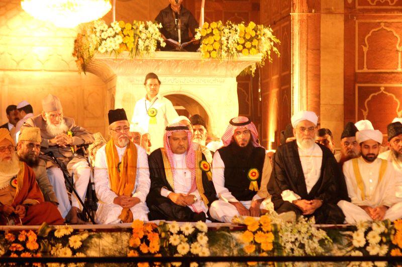 Shaban Bukhari, the son of Jama Masjid Shahi Imam Syed Ahmed Bukhari, formally anointed the Naib Imam (deputy Imam) of the 17th century Jama Masjid mosque in Delhi on Nov. 22, 2014. The ...