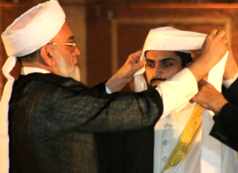 Shaban Bukhari, the son of Jama Masjid Shahi Imam Syed Ahmed Bukhari, formally anointed the Naib Imam (deputy Imam) of the 17th century Jama Masjid mosque in Delhi on Nov. 22, 2014. The ...