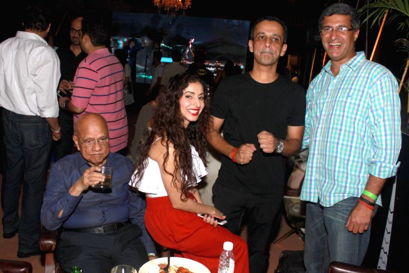 Delhi socialites during a party thrown to celebrate unveiling of upper floor of Epicuria in New Delhi, on May 19, 2016.