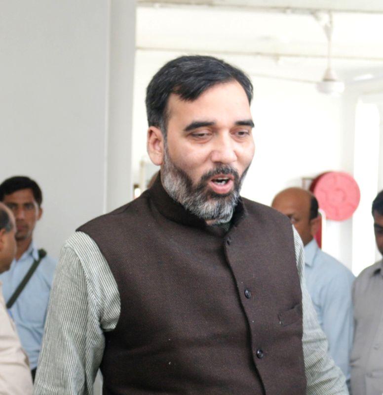Delhi Transport Minister Gopal Rai. (File Photo: IANS)