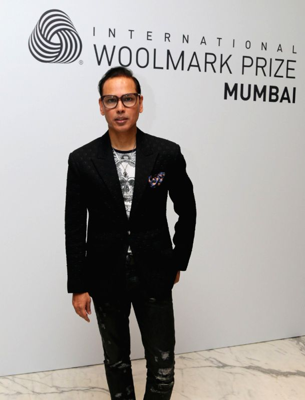 Designer Troy Costa and Jury member of  2016 2017 International Woolmark Prize India, Pakistan & Middle East Regional Final.