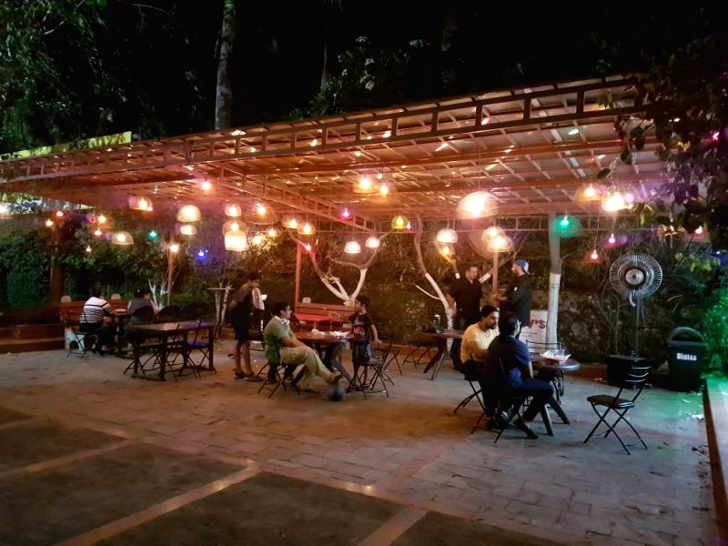 Dev\'s American Cafe at The British School, Sector 44, Chandigarh.
