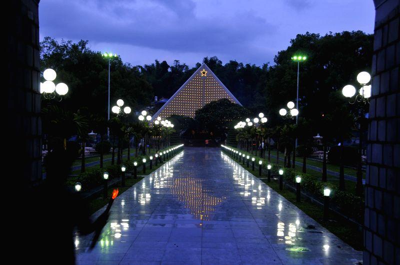 DIEN BIEN PHU (VIETNAM), May 6, 2014 Photo taken on May 5, 2014 shows a Vietnamese martyrs cemetery in Dien Bien Phu, Vietnam. Vietnam is to hold series of celebrations to mark the ...