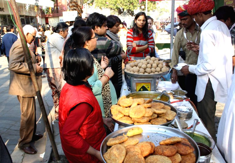 Dilli ke pakwan festival in New Delhi 09 Feb 2013.