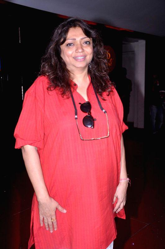 Director Bela Sehgal at the first look of `Shirin Farhad Ki Toh Nikal Padi` at Cinemax.