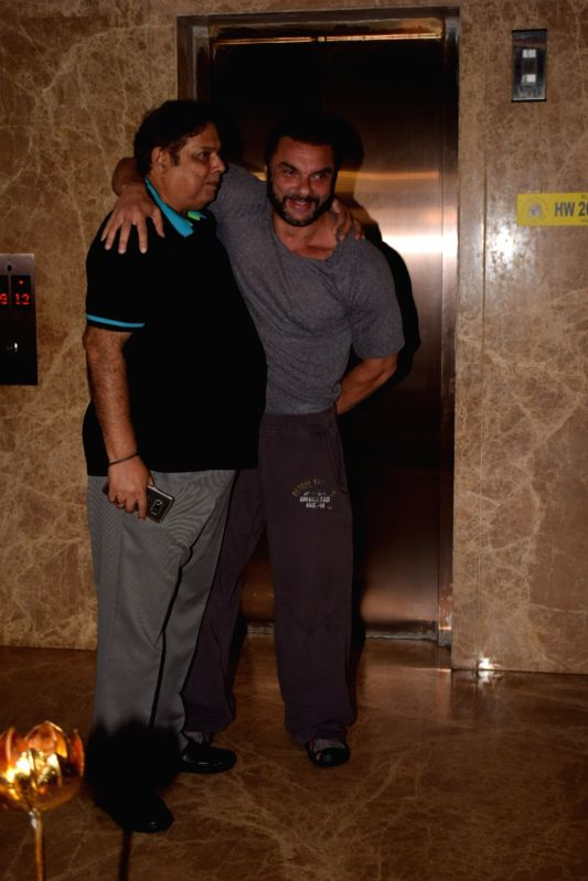 David Dhawan with Sohail Khan