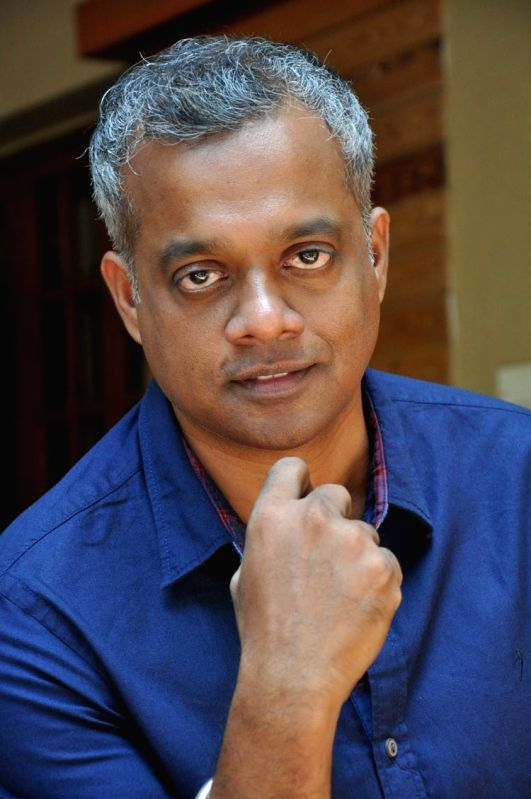 Director Gautham Menon during a press meet.