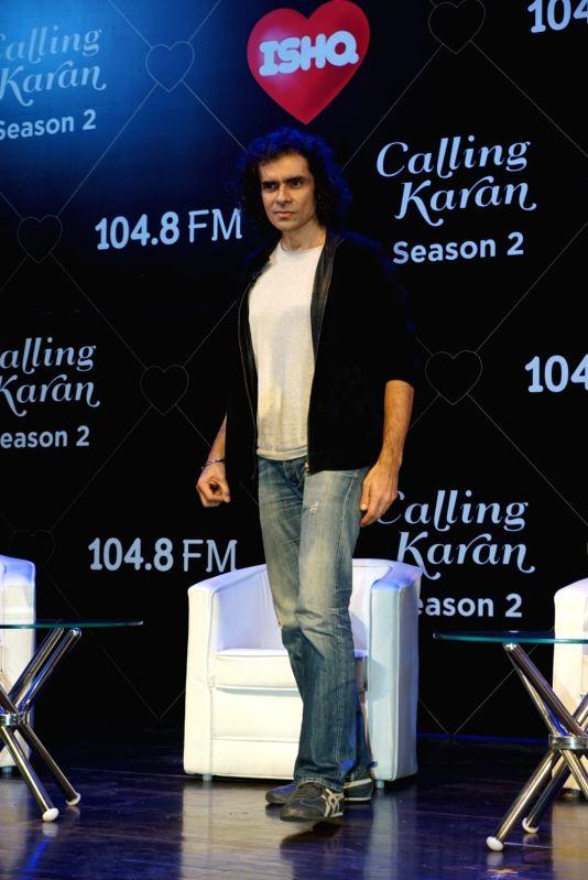 "Director Imtiaz Ali at the launch of upcoming radio show ""Calling Karan Season 2"" in Mumbai on Aug 6, 2018."