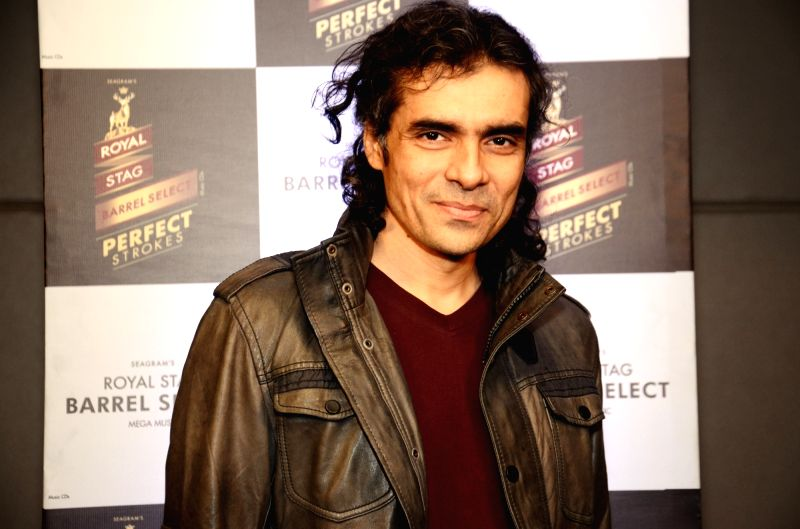 Director Imtiaz Ali during a programme ``Perfect Strokes Season 2`` in New Delhi on Dec. 5, 2015.