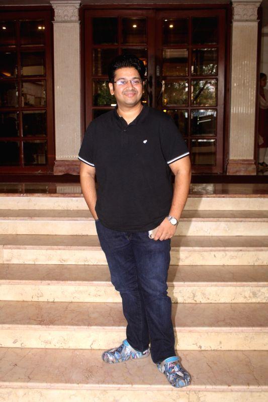 "Director Milap Zaveri during the promotion of his upcoming film ""Satyameva Jayate"" in Mumbai on July 13, 2018."