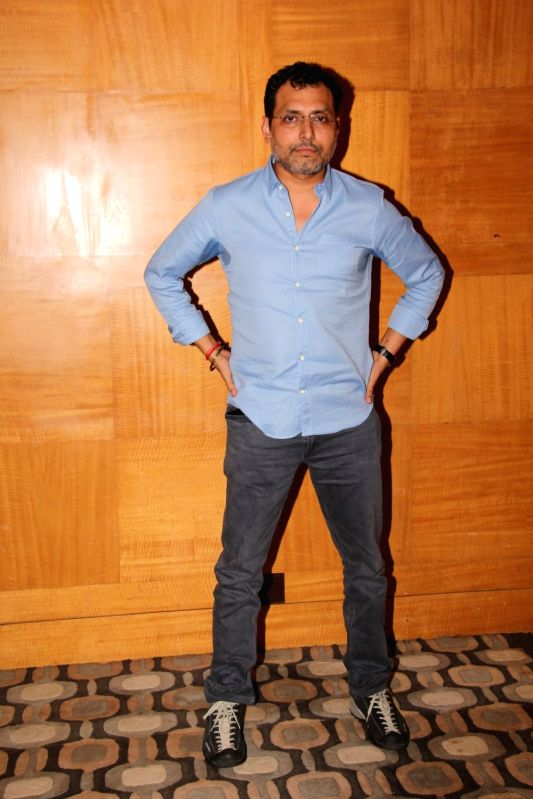 "Director Neeraj Pandey at the promotion of their upcoming film ""Aiyaary"" in Mumbai on Feb 1, 2018. - Neeraj Pandey"