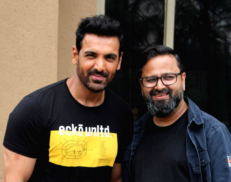 Director Nikkhil Advani and actor John Abraham