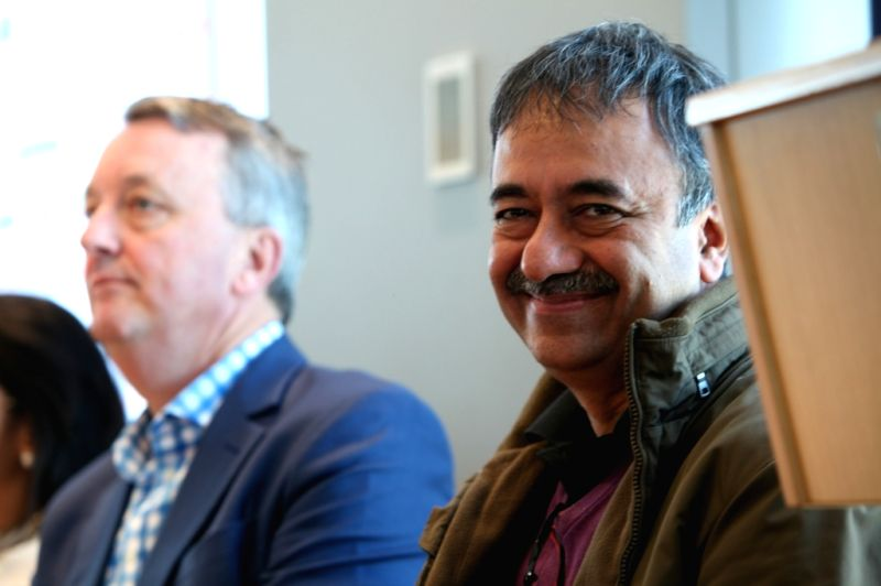 Director Rajkumar Hirani at the Indian Film Festival of Melbourne (IFFM) in Melbourne on Aug 10, 2018.