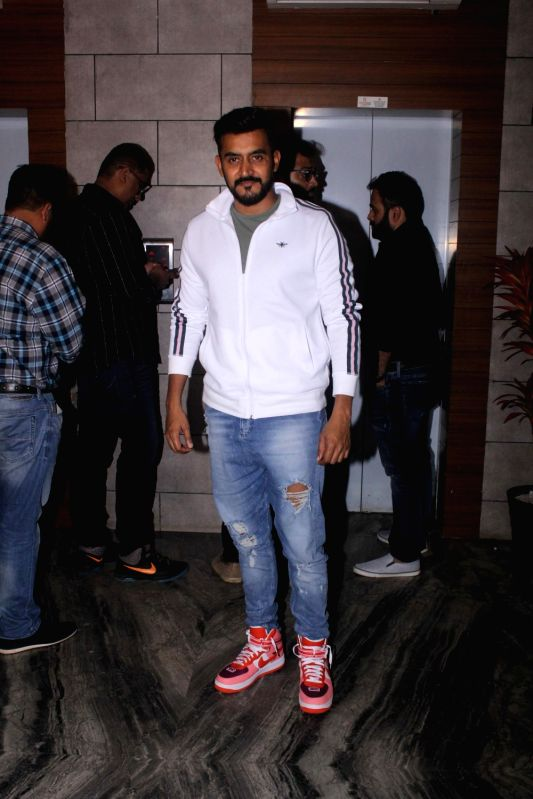 "Director Shashank Khaitan during the success party of his film ""Dhadak"" in Mumbai on Aug 9, 2018."