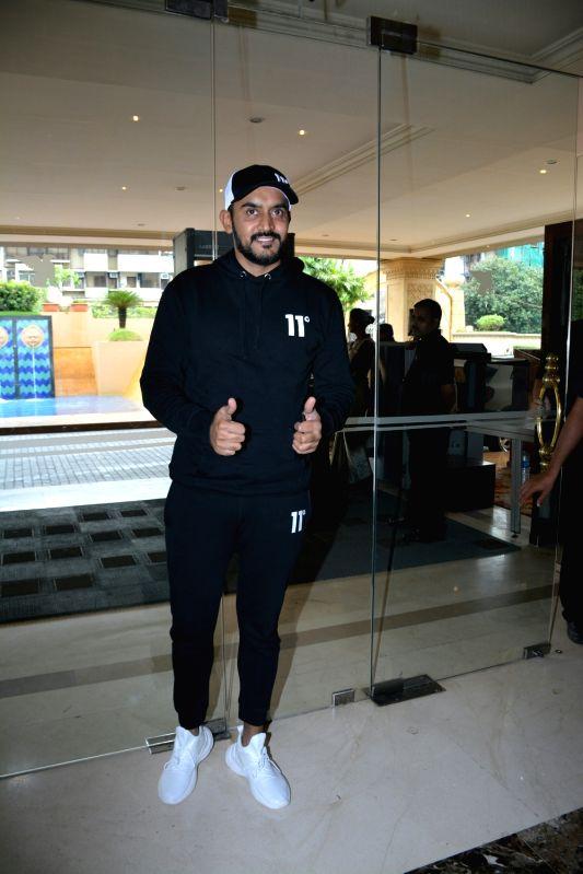 "Director Shashank Khaitan during the success meet of his film ""Dhadak"" in Mumbai on July 26, 2018."