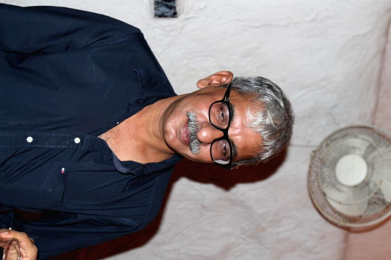 Director Sriram Raghavan during the wrap up party of film Badlapur in Mumbai, on August 17, 2014.