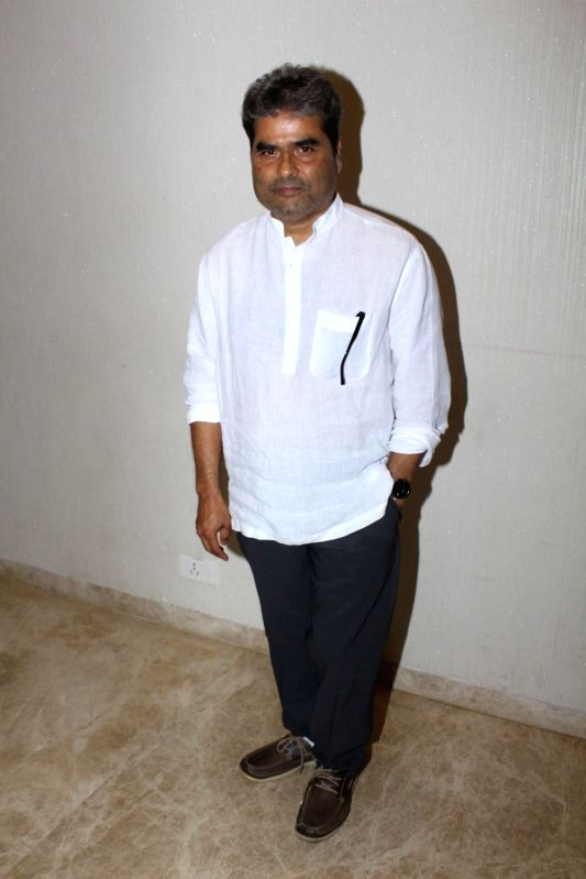 "Director Vishal Bhardwaj during the screening of short film ""kajal"" in Mumbai on June 6, 2017. - Vishal Bhardwaj"