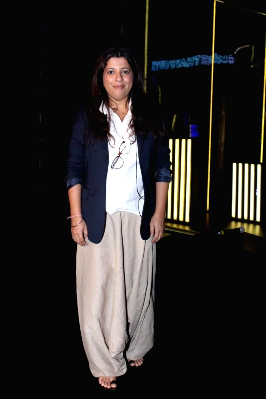 "Director Zoya Akhtar during the ""Blenders Pride Fashion Tour 2017"" in Mumbai on Oct 5, 2017."