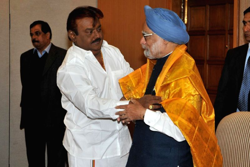 delhi press meet vijayakanth wiki