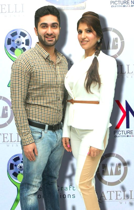 Dr.Makani and Dr.Ruby Tandon during the launch of Manali Jagtap's new `Clutch Closet` bridal handbag collection preview event in Mumbai on July 11, 2014.