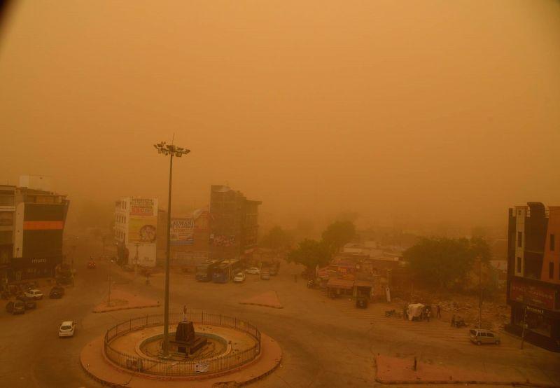 Dust storm. (File Photo: IANS)