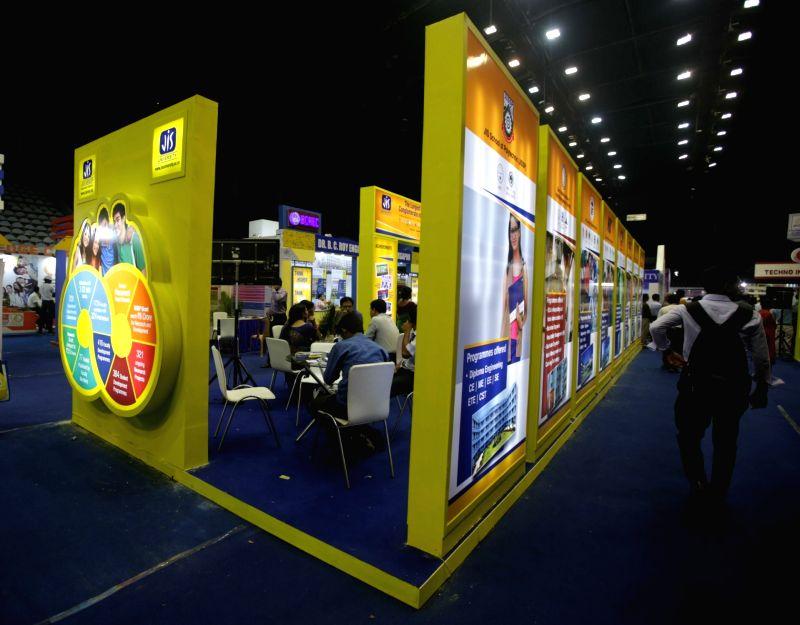 Education Interface 2017 at Netaji Indoor Stadium in Kolkata on May 30, 2017.
