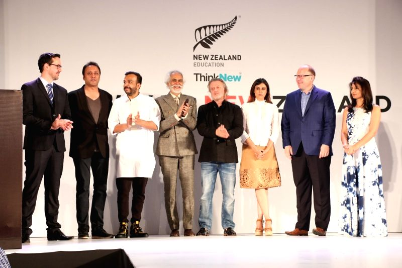 Education New Zealand (ENZ) and Fashion Design Council of India,​?Runway to New Zealand?