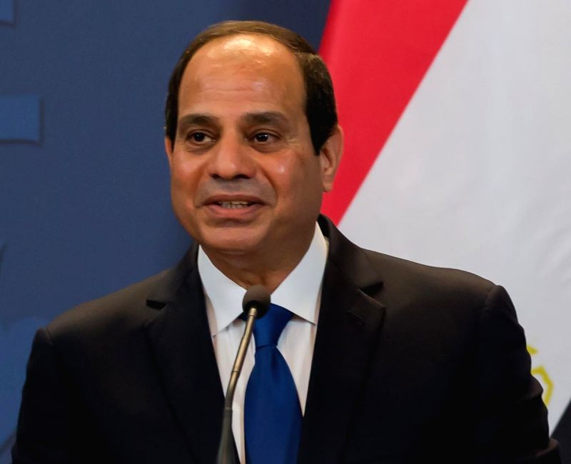 Egypt President Abdel Fattah el-Sisi. (File Photo: IANS)