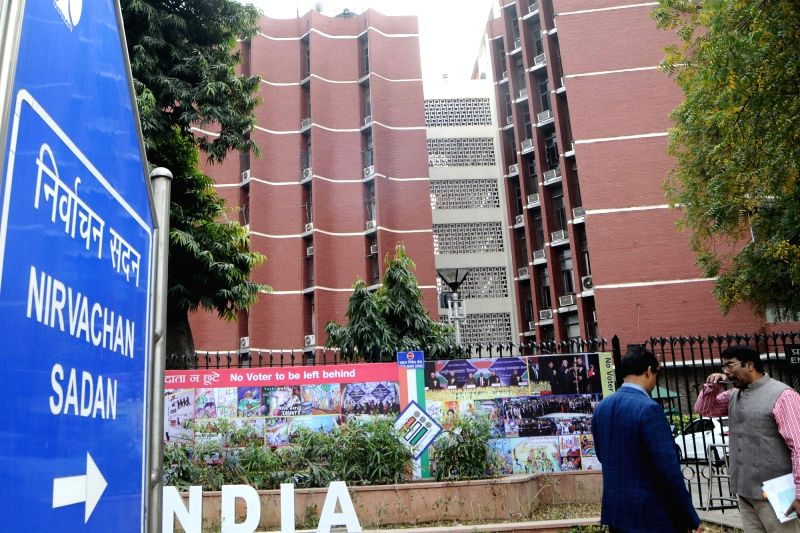 Election Commission of India. Nov 1, 2019. (File Photo: Amlan Paliwal/IANS)