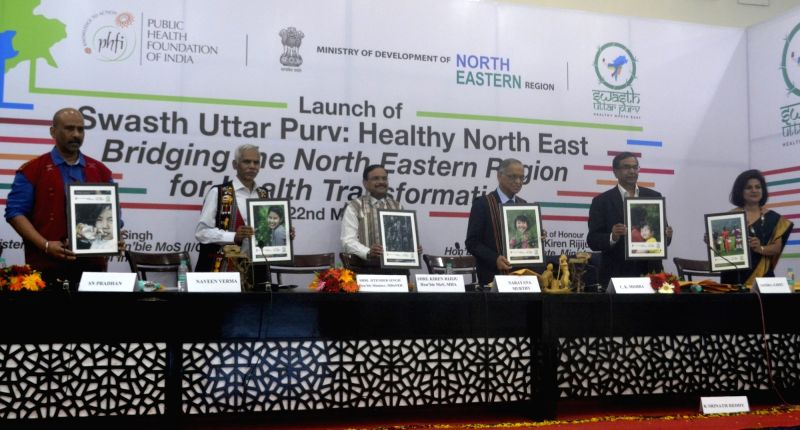 Emeritus Infosys Chairman and PHFI Chairman NR Narayana Murthy, Union Secretary, Health and Family Welfare CK Mishra, Secretary, Department of North East Region Naveen Verma, Public Health ... - K. Srinath Reddy