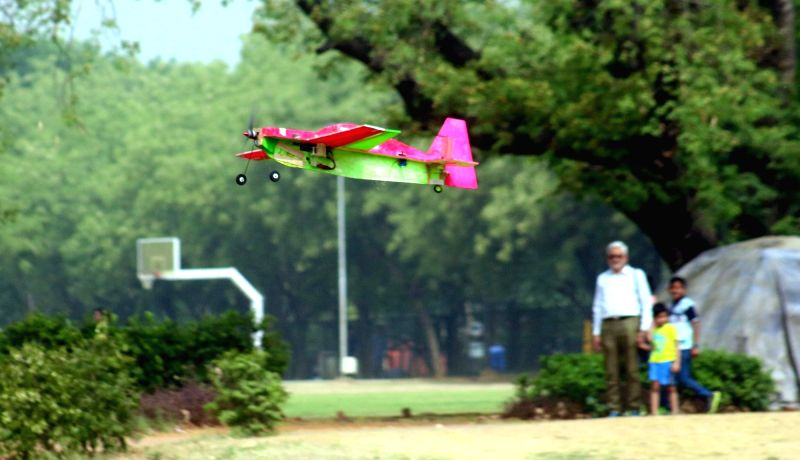 Engineering students from all of India participate during an aero modelling show organised by BOEING India in association with Indian Institute of Technology (IIT Delhi) in New Delhi on ...