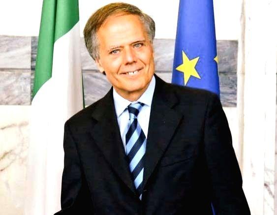 Enzo Moavero Milanesi. (File Photo: IANS)(Image Source: IANS News)